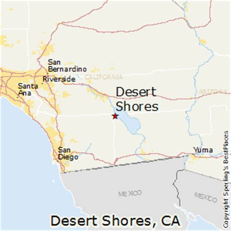 california map desert best places to live in desert shores california