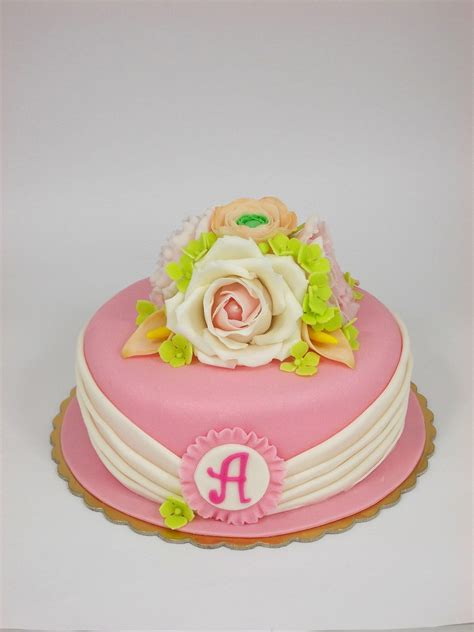 torte fiori torta fiori romantica torte adulti fiori romantici