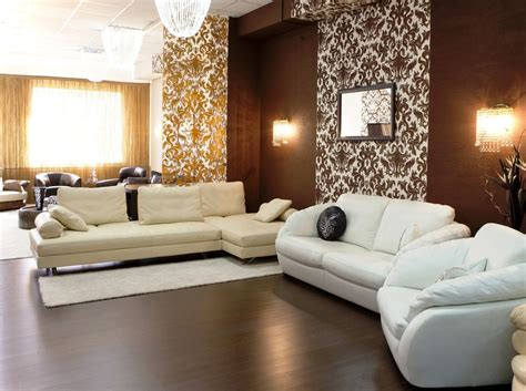 brown living room ideas decorating with modern furniture