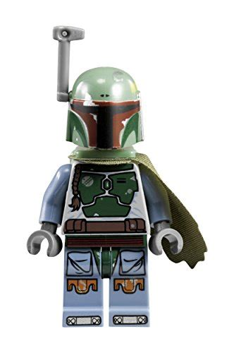 Boba Fett Green Minifigure Lego Bootleg lego 8020363 wars boba fett buildable with link bracelet and minifigure green