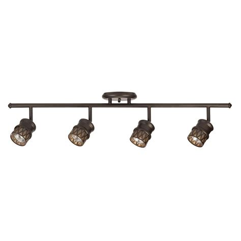 globe electric track lighting globe electric norris 4 light oil rubbed bronze adjustable