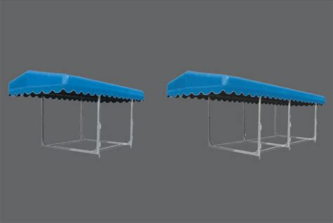 free standing boat canopy frame canopies cottage docks ontario