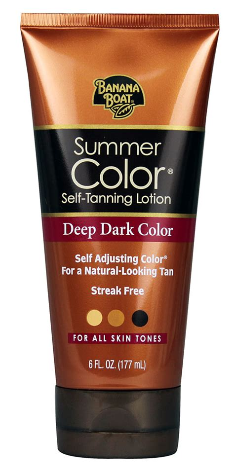 banana boat self tanner summer color i got you girl self tan get glamourized