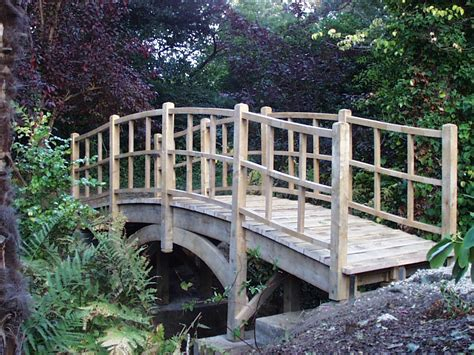 Japanese Bridge Altham Oak Bridge Traditional