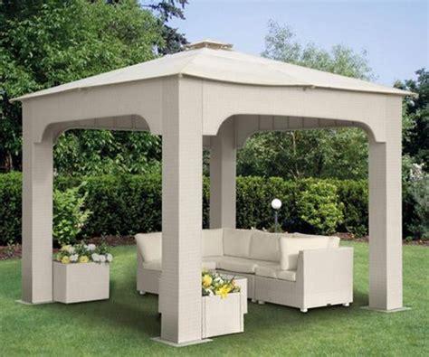 Rattan Pavillon by Miofiore Arredamenti Gazebo Ombrelloni E Tende F Lt
