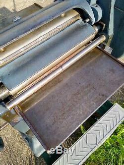 vintage parks craftsman   thickness planer