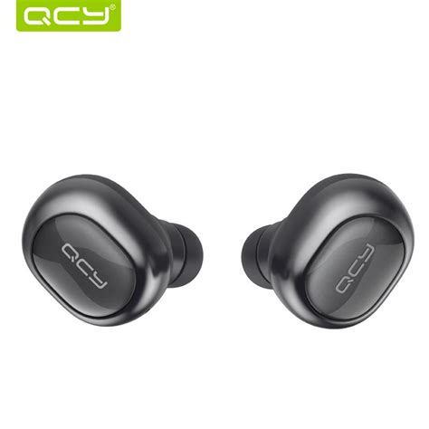 Qcy Q29 Airpods Earphone Bluetooth Dengan Charging qcy q29 mini dual v4 1 wireless earbuds bluetooth headphones with charging stereo