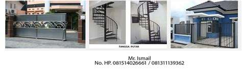 harga Railing Tangga Stainless Steel di tangerang
