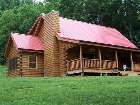 log home log cabin package kiln dried eastern white pine