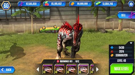 jurassic world mobile game mod jurassic world mod apk 1 11 13 mod hack youtube