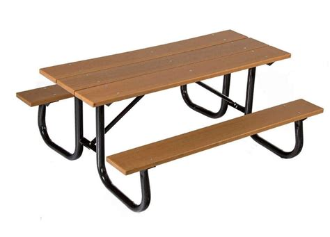 heavy duty plastic picnic tables 8 ft heavy duty recycled plastic picnic table with welded