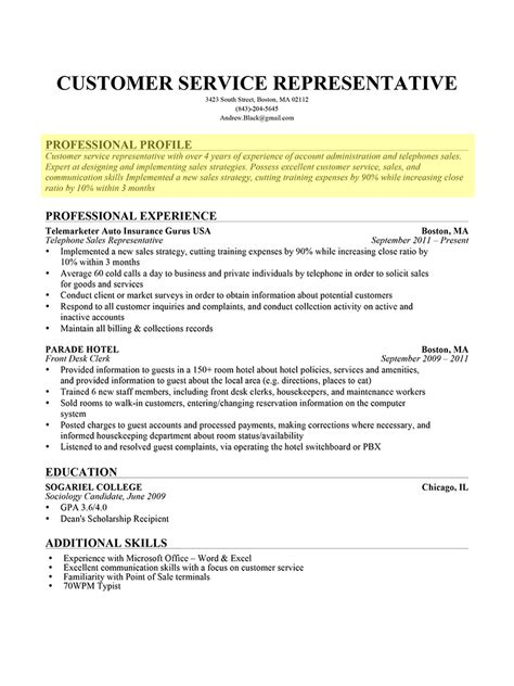 examples of resume profiles awesome professional profile resume