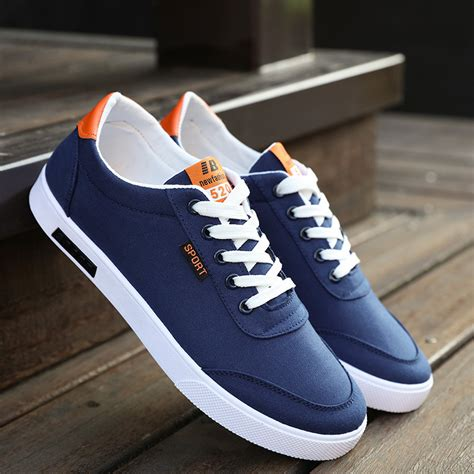 Sepatu Korea Boot Denim mens accessories and clothing