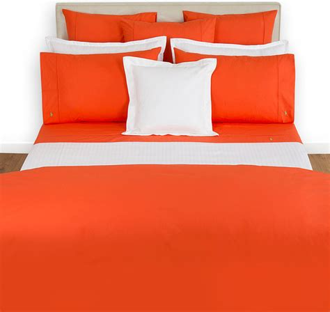 Set Bed Cover Polos 180x200 ralph home polo player tangerine duvet cover modern duvet covers and duvet sets by