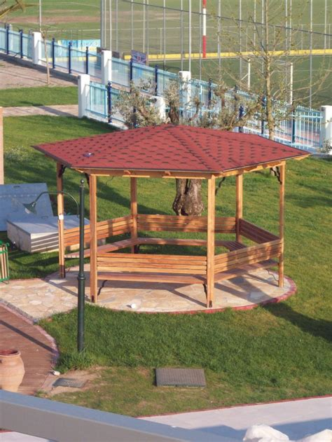 Pergola Round by Round Shaped Pergola Artio