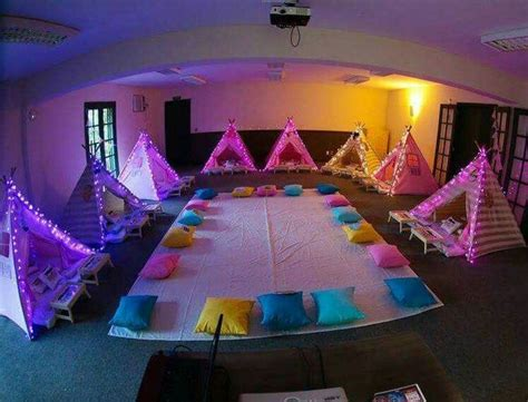 themes for girl sleepovers 25 unique indoor cing parties ideas on pinterest