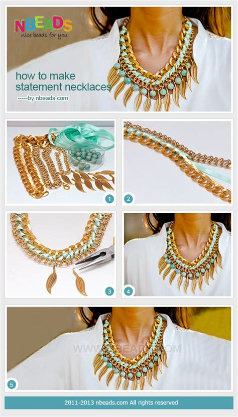 make a statement jewelry how to make statement necklaces pictures photos and