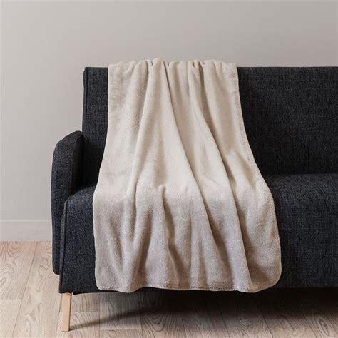 Ikea Meuble De Salle De Bain 3848 by Plaid En Tissu Dor 233 150 X 230 Cm Chantilly Maisons Du Monde