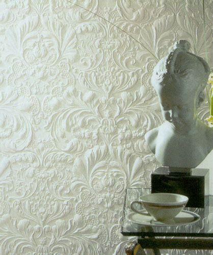 embossed wallpaper embossed wallpaper design or anaglypta wallcovering ideas