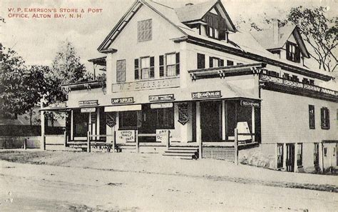 Alton Post Office by Emerson S Store And Post Office Alton Bay