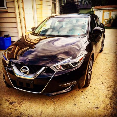 Faulkner Nissan Of Jenkintown by 2016 Nissan Maxima Platinum In Bordeaux Black Yelp