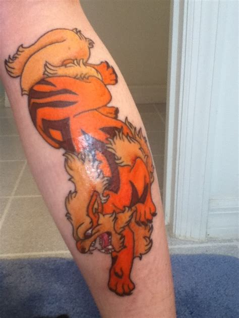 arcanine tattoo 178 best ink images on designs