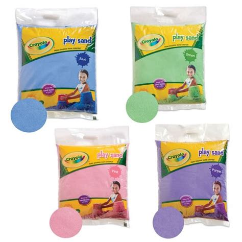 for colored play crayola 174 colored play sand 20 pound bags by crayola