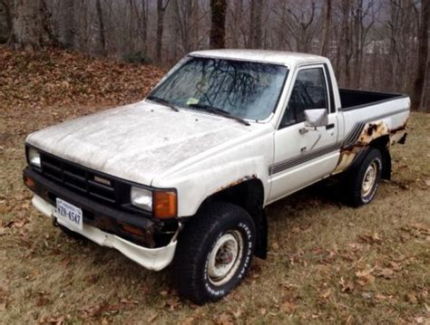 Toyota 22r 4x4 Sell Used 1986 Toyota 4x4 Truck 22r Motor Manual