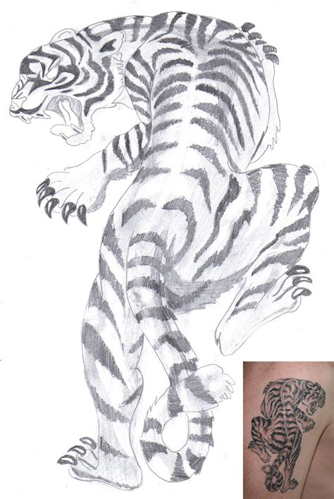 white tiger tattoos white tiger sleeve