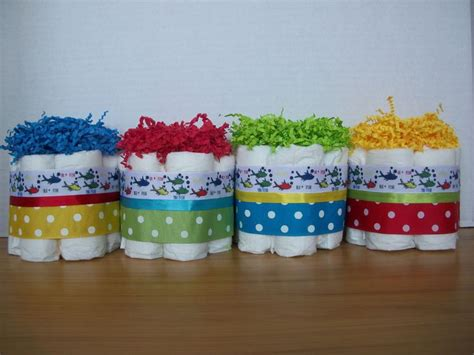 Baby Shower Cake Table Decorations by 4 Dr Seuss 1 Fish 2 Fish Mini Cakes Baby Shower