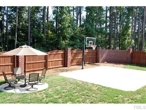 Concrete Patio Ideas For Small Backyards Backyard Basketball Court Ideas To Help Your Family Become