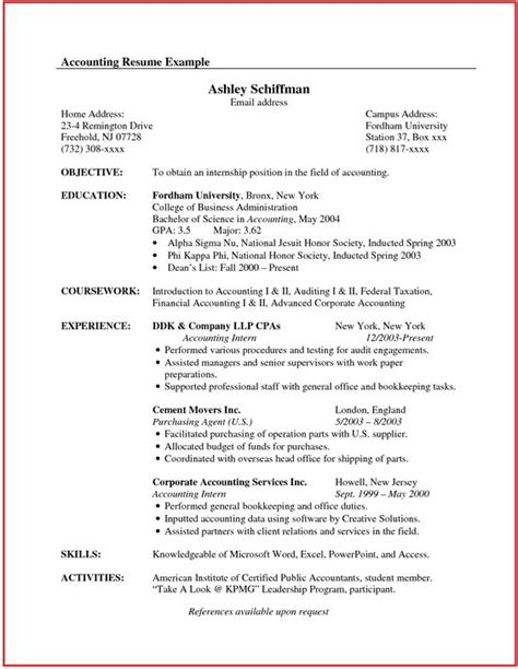 Resume Template International Experience Canada Accountant Resume Sle Canada Http Www Jobresume Website Accountant Resume Sle Canada