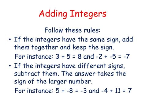 heys adding integers