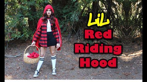 Diy Halloween Costumes Little Red Riding Hood