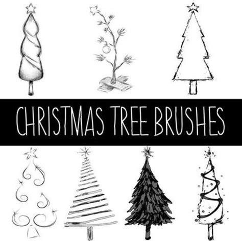 christmas tree brushes free photoshop brushes at brusheezy