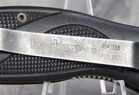 kershaw ken blackout kershaw blackout 1550 ken speedsafe linerlock