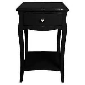 one black white small side table black polyvore