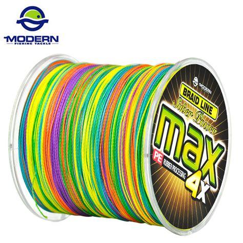 Braid Max Pe 5 500m 50lb Multicolor 500m Modern Fishing Brand Max Series Multicolor 1m 1color