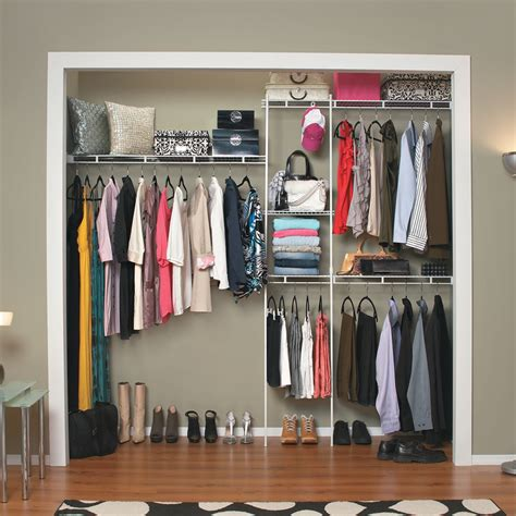 Closet Organization Kits by Closetmaid 162800 5 Ft To 8 Ft Closet Organizer Kit Atg