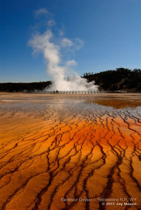 yellowstone n p excelsior geyser panoramio photo of excelsior geyser yellowstone n p wy