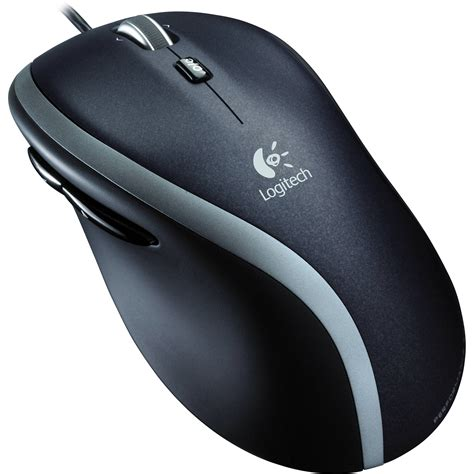 Mouse Laptop Logitech logitech corded mouse m500 910 001204 b h photo