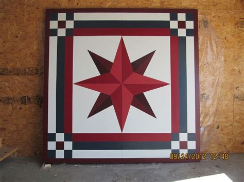 Barn Quilt Designs Patterns by Barn Quilt Patterns Sneak Peak Pictured Above Is A 8x8