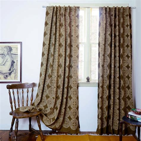 bohemian curtains curtains brown bohemian curtains window curtain boho home