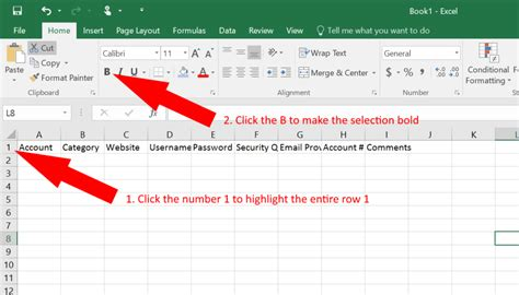 How To Use Excel As A Password Keeper Free Template German Pearls Free Excel Password Manager Template