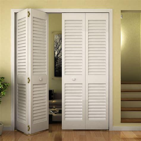 louvered bifold closet doors sizes louver bifold door w plantation slats 1 3 8 quot thick international door company