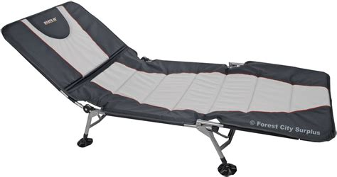 folding cot bed north 49 174 padded folding bed cots folding c cots forest city surplus canada