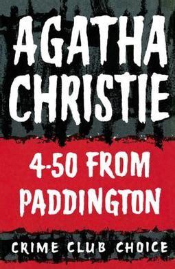 libro 4 50 from paddington miss 4 50 from paddington wikipedia