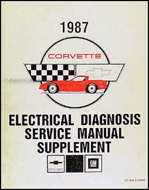 service manual download car manuals 1987 chevrolet corvette free book repair manuals service