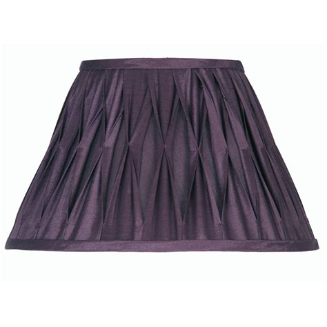 20 inch l shade plum pinched pleat l shade 20 inch oaks601 20pl oaks