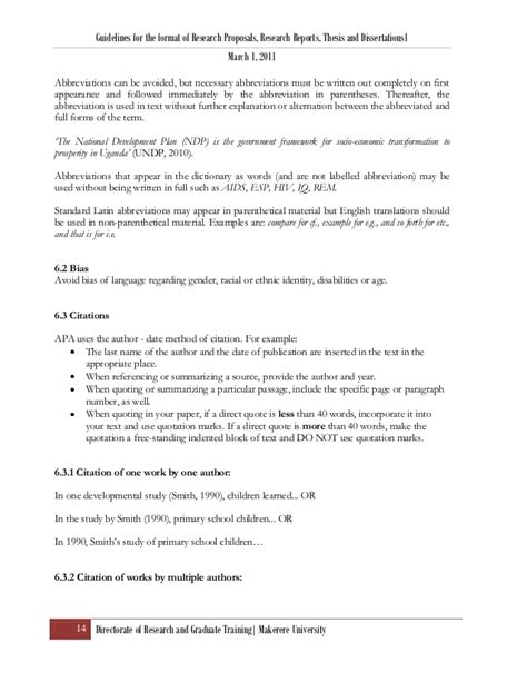 makerere dissertations research thesis format ver 4 april 2011